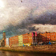 Dublin's Fairytales Around  River Liffey 2 Art Print