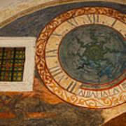 Dubrovnik Fresco Art Print