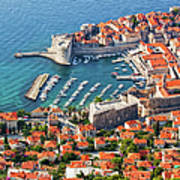 Dubrovnik From Above Art Print