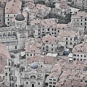 Dubrovnik Rooftops #2 Art Print
