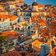 Dubrovnik Sunset Art Print