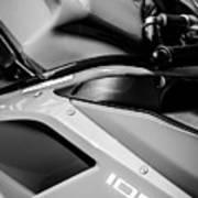 Ducati 1098 Motorcycle -0893bw Art Print