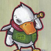 Ducky Death Art Print