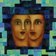 Duet 3 Art Print