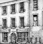 Duffys Antique Shop Parnell Street Dublin  Art Print