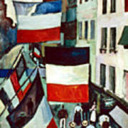 Dufy: Flags, 1906 Art Print