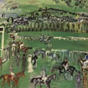 Dufy: Race Track, 1928 Art Print