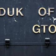 Duk Of Gton Art Print