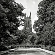 Duke University Chapel Art Print