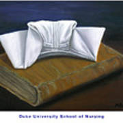 Duke University School Of Nursing Art Print