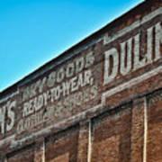 Dulin's Dry Goods Art Print