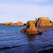 Dunbar Coast Art Print
