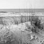 Dune - Black And White Art Print