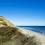 Dune Cliffs And Beach Art Print