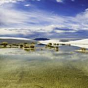 Dunes And Reflections Three Art Print