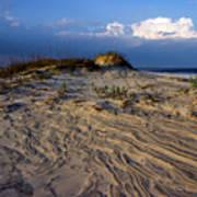 Dunes At St. Simons Island Art Print