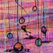 Dunking Ornaments Art Print