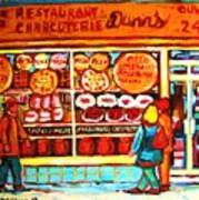 Dunn's Treats And Sweets Art Print
