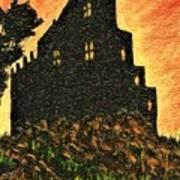 Duntrune Castle Argyll Scotland Art Print