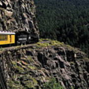 Durango - Silverton Train Art Print