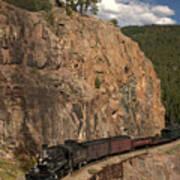 Durango/silverton Narrow Gauge Railroad Art Print