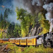 Durango-silverton Narrow Gauge Railroad Art Print