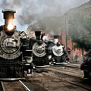 Durango - Silverton Railroad Art Print