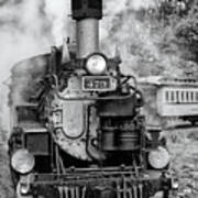 Durango Silverton Train Engine Art Print