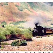 Durango-silverton Train Art Print