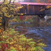 Durgin Covered Bridge Sandwich Art Print