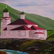 Dutch Harbor Church Art Print
