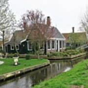 Dutch Village 2 Art Print