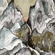 Dwimorberg     The Haunted Mountain  Art Print