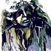 Dylan Art Print by Mindy Newman
