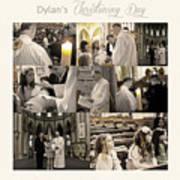 Dylan's Christening Day V3 Art Print