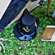 E Company Black Hat Art Print