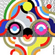 E Motion - Princess Face 1 Art Print