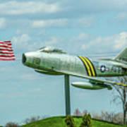 Eaa F-86 Sabre Art Print