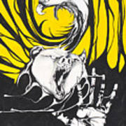 Eagle And Bear Art Print