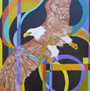 Eagle Dance Art Print