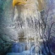 Eagle Falls Art Print