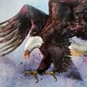 Eagle Of Light Art Print