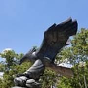 Eagle Statue  Art Print