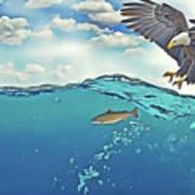 Eaglenfish Art Print