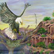 Eagles Nest Art Print