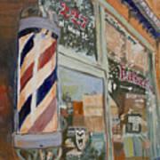 Eaker's Barbershop Art Print