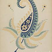 "Early Californian Skirt From The Portfolio ""decorative Art Of Spanish California"" Art Print"