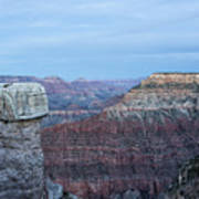 Early Evening At Grand Canyon No. 2 Art Print