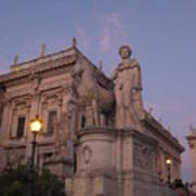 Early Evening Rome Number Two Art Print