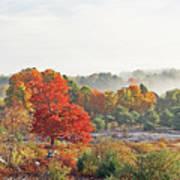 Early Fall Morning Art Print